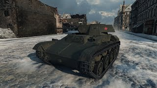 WoT T-45 MY ACE TANKER 1073 exp - Winter Himmelsdorf