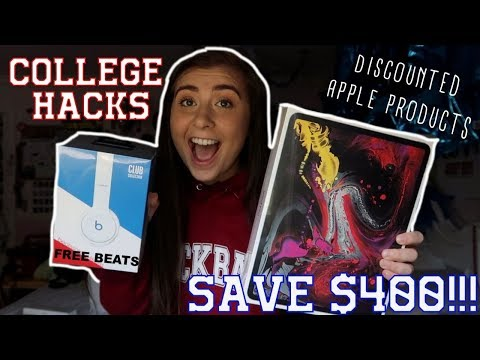 COLLEGE HACKS: HOW TO SAVE MONEY ON APPLE PRODUCTS