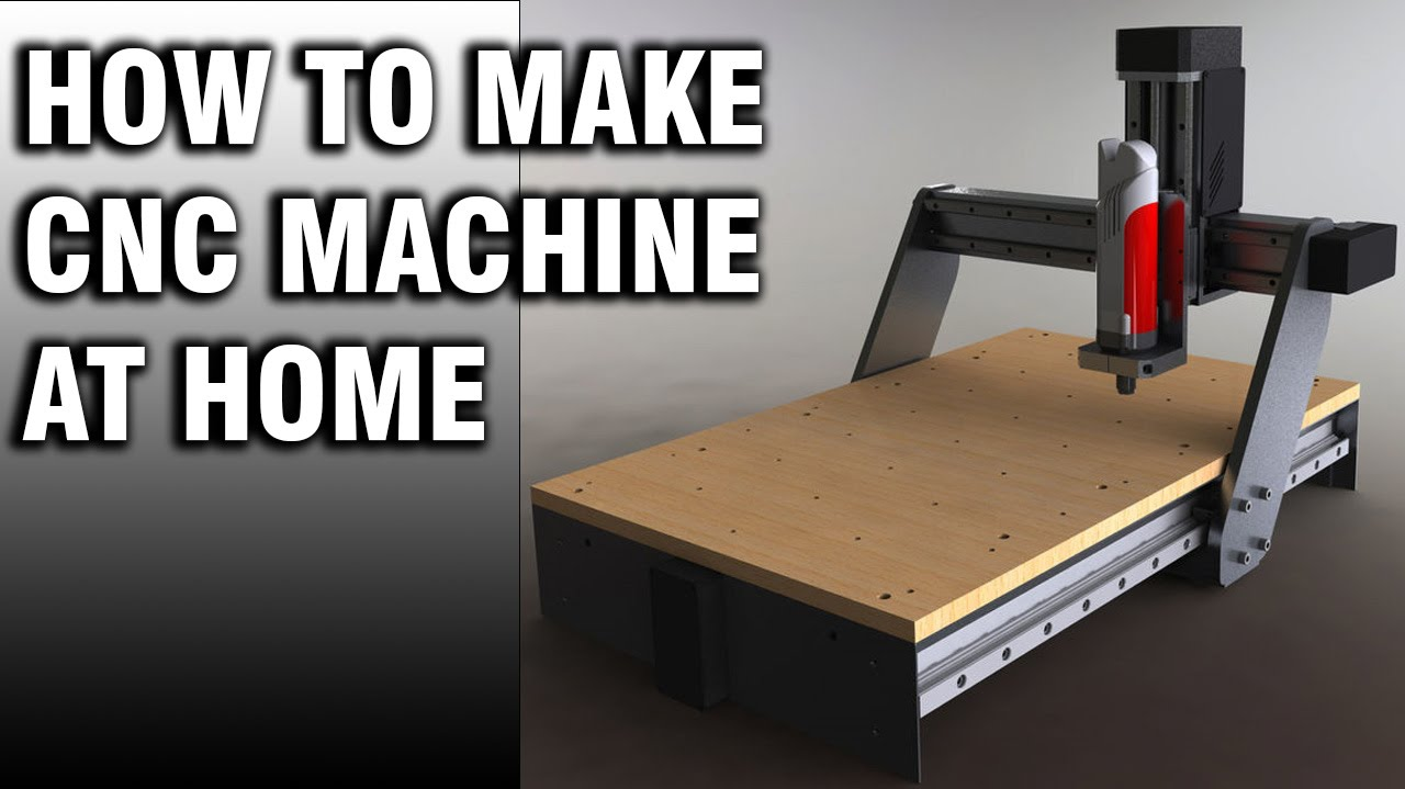 How To Make Professional Cnc Machine At Home Youtube