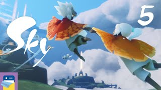 Sky: Children of the Light - iOS Gameplay Walkthrough Part 5 - Collecting Spirits (thatgamecompany)