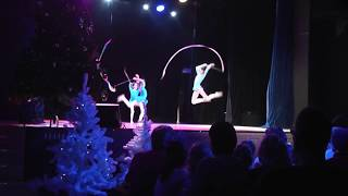 Новогоднее представление ДК Онежский 20 декабря 2017г