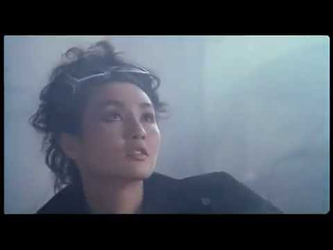 Maggie Cheung in action