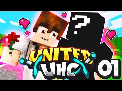 LOVE AT FIRST SIGHT! 💞 (Minecraft United UHC S3: E1)