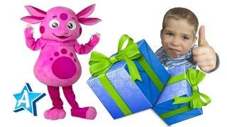 Лунтик в Гостях На День Рождения у Андрея Видео для Детей   Лунтипарк   Andrew