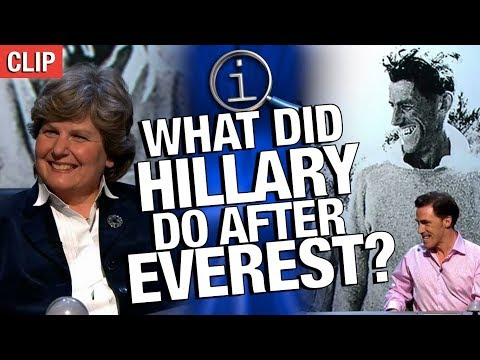 Thumbnail: QI | What Did Hillary Do After Everest?