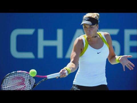 Sabine Lisicki Vs Vera Zvonareva - 2011 US Open R4 Highlights