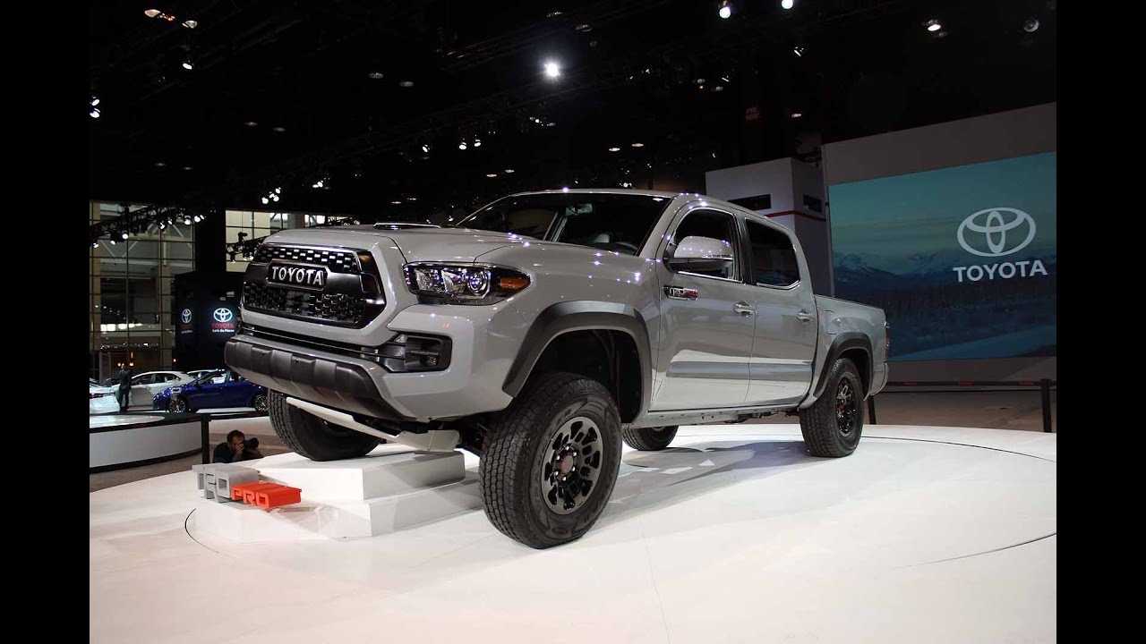 2017 Toyota Tacoma Trd Pro Manual Transmission