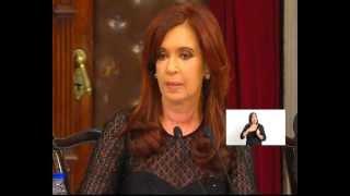 Visión Siete: 130º Apertura de Sesiones Ordinarias: discurso de la presidenta Cristina Fernández