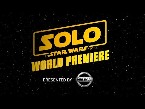 Live From the Red Carpet of Solo: A Star Wars Story!