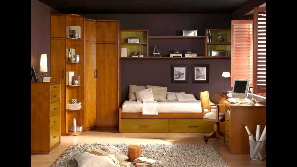Muebles nogal y caoba dormitorios juveniles clasicos youtube for Muebles refolio dormitorios juveniles