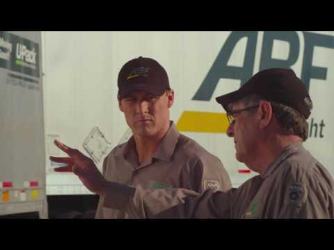 ABF Freight professional driver ad