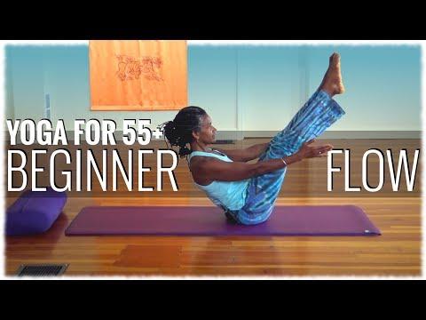 Hatha Yoga with Satiya Channer: Yoga for 55+: Beginner Flow