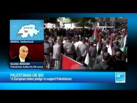 Ibrahim KHRAISHI, Palestinian Authority UN envoy, about Palestinian UN bid: 'A new opportunity'