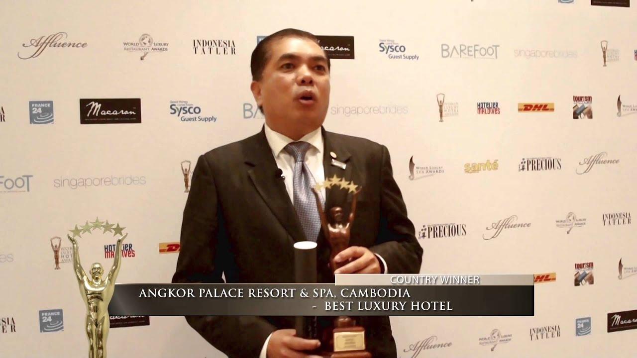 Angkor Palace Resort Spa Country Winner 2015 Best Luxury Hotel Angkor Palace Resort