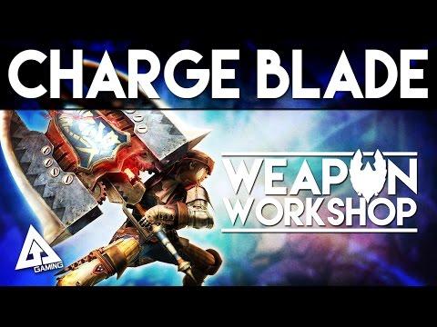 Monster Hunter Generations Charge Blade Tutorial | Weapon Workshop (Monster Hunter X)