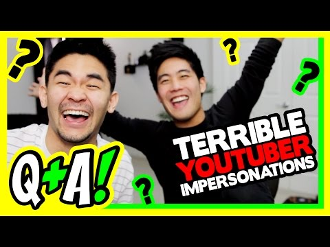 Thumbnail: Impersonating Youtubers! (Q&A)
