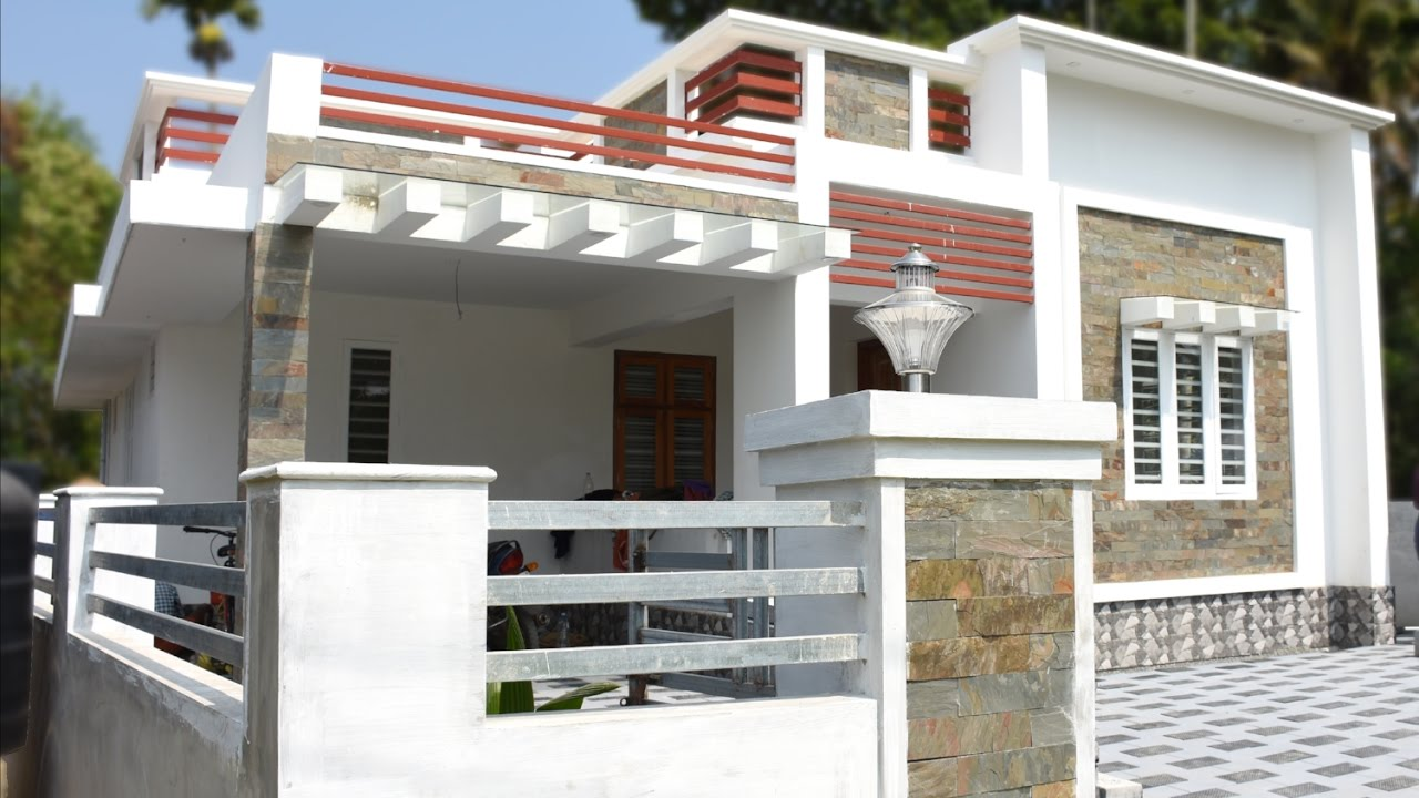 Athani 65 cents plot and 1368 sq ft new small house for sale in