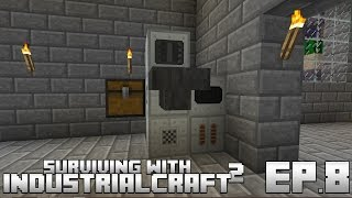 Surviving With IndustrialCraft 2 :: Ep.8 - Blast Furnace Automation