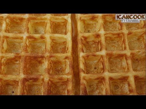 Crispy Waffles (简单香脆 威化饼)