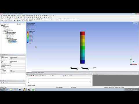 Static structural analysis with design & Stress optimization of column in ansys workbenc