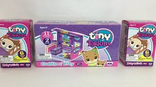 Tiny Tukkins Baby Animal Plush Surprise Toys Blind Box Opening & Review