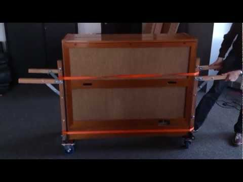 How to move a Hammond A-100