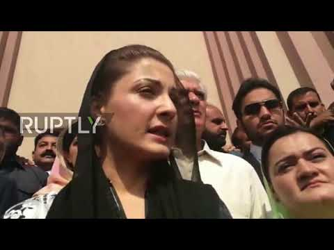 Pakistan: Daughter of ex-Pakistani PM appears in court, calls corruption allegations a 'joke'