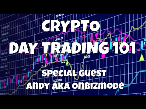 CRYPTO DAY TRADING 101 | SPECIAL GUEST ANDY aka ONBIZMODE