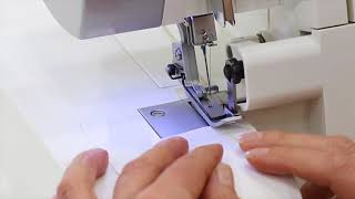 Threading a 3 Thread Serger Overlock Narrow - SING...