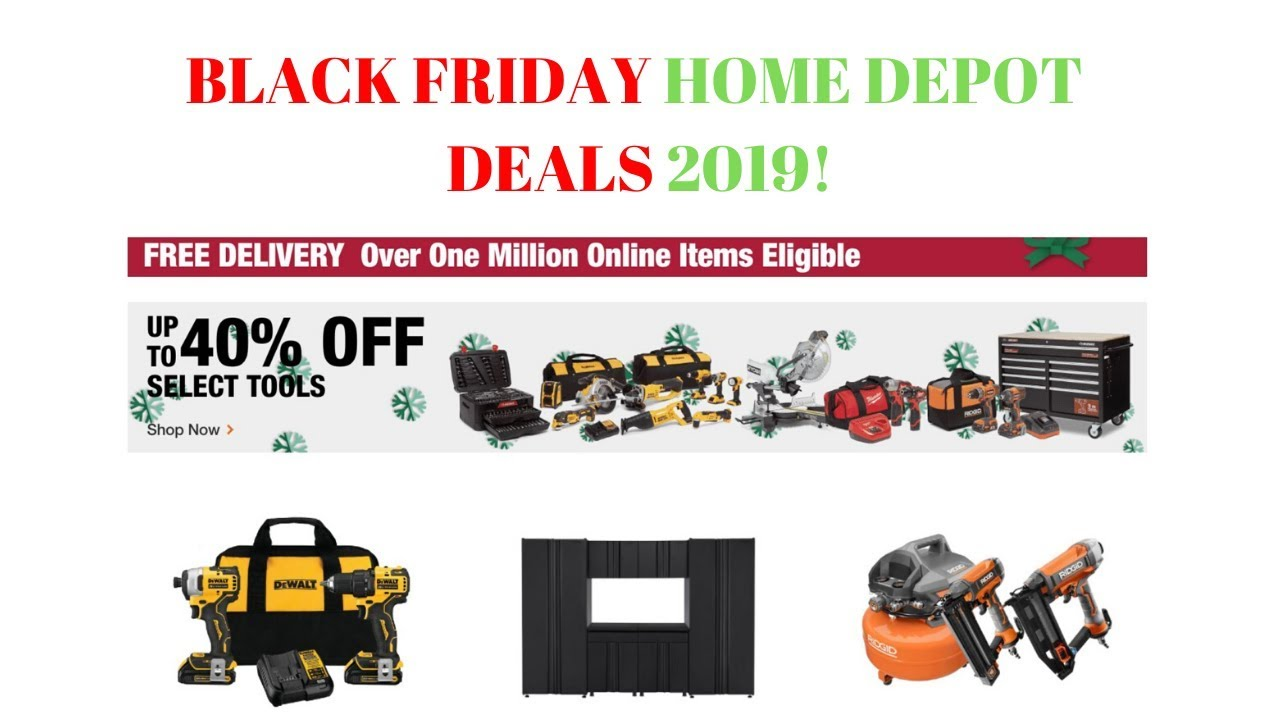 Home Depot Black Friday Deals 2019 Are They Worth The Long Black Friday Lines