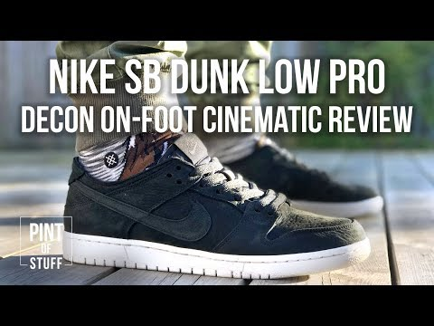 on sale bf099 a8d80 Nike SB Dunk Low Pro Decon in Black On-foot Review with Mr B ...