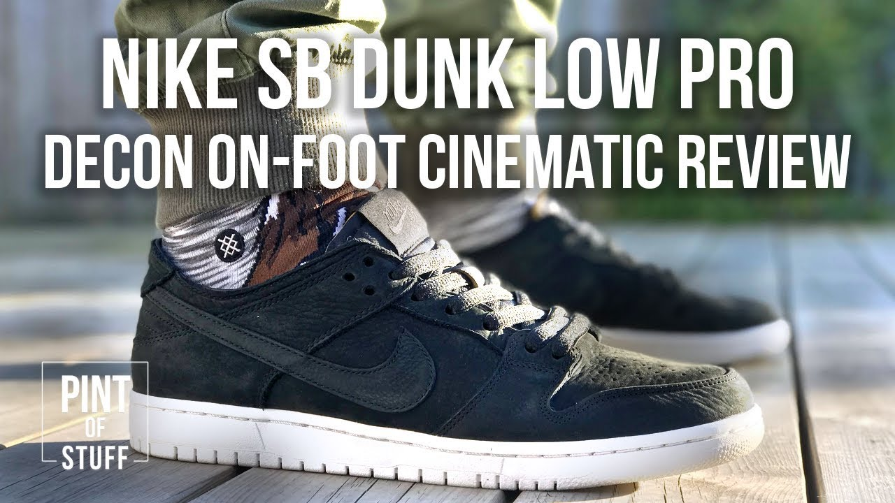 b6f4576ec19f1 Nike SB Dunk Low Pro Decon in Black On-foot Review with Mr B ...