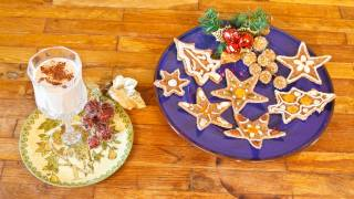 Eggnog And Gingerbread Cookies For Christmas - Ligia's Kitchen