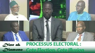 Dine ak Diamono (1er nov. 2018) - PROCESSUS ELECTORAL : Cote Election, Cote Illusion
