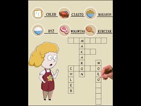 Word Cross Puzzle - Pl