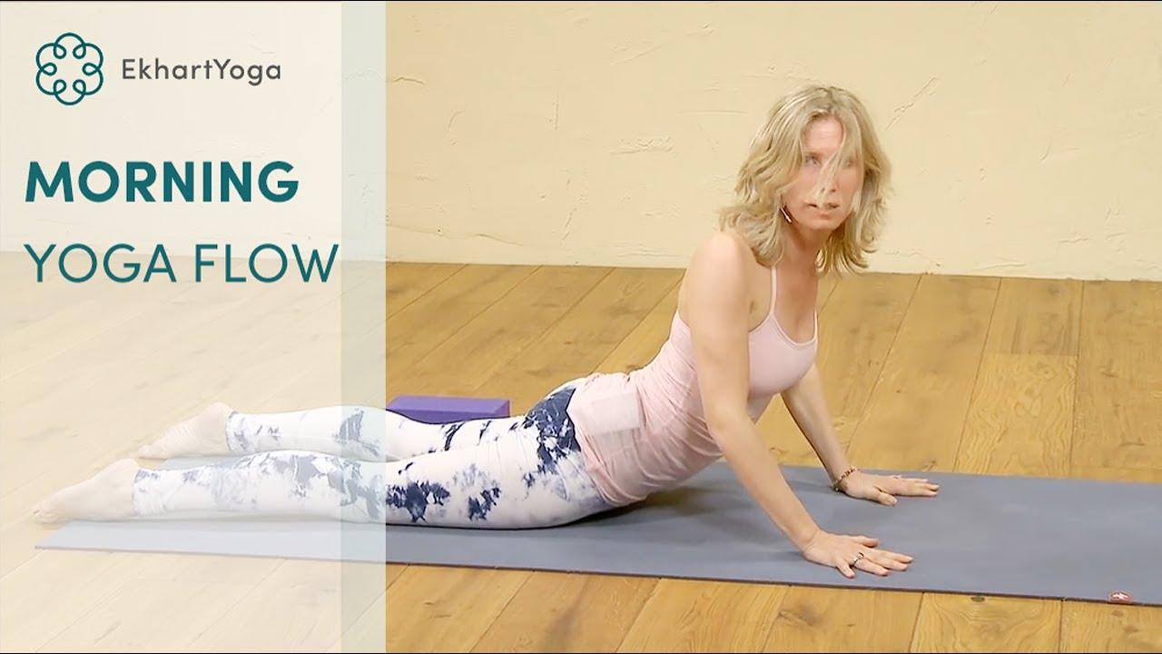 Morning Yoga Flow to Wake Up your Body, with Esther Ekhart