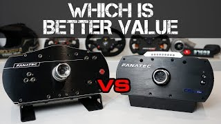REVIEW - FANATEC ClubSport Wheel Base 2.5 vs. CSL Elite 1.1 - WHICH IS BETTER VALUE?