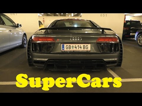 Audi Prototypes and SuperCars