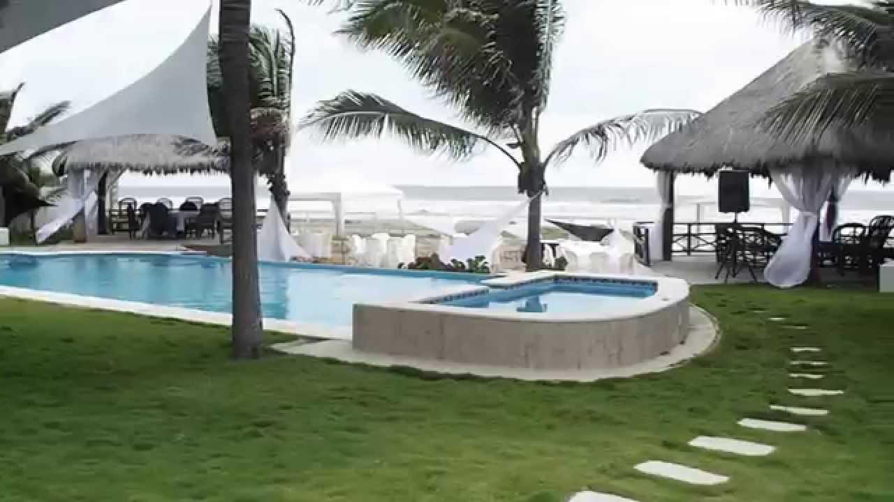 Casas para bodas en playas ecuador youtube - Casa de playa ...