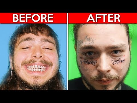 10 Rappers Who Lost Their Mind... (Post Malone, 6ix9ine, Kanye West & MORE!)