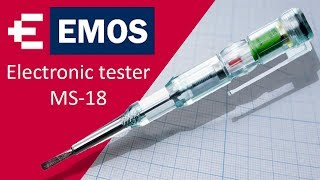 EMOS Electronic Tester MS-18 review