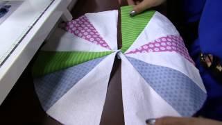 Almofada em patchwork Parte 1/2