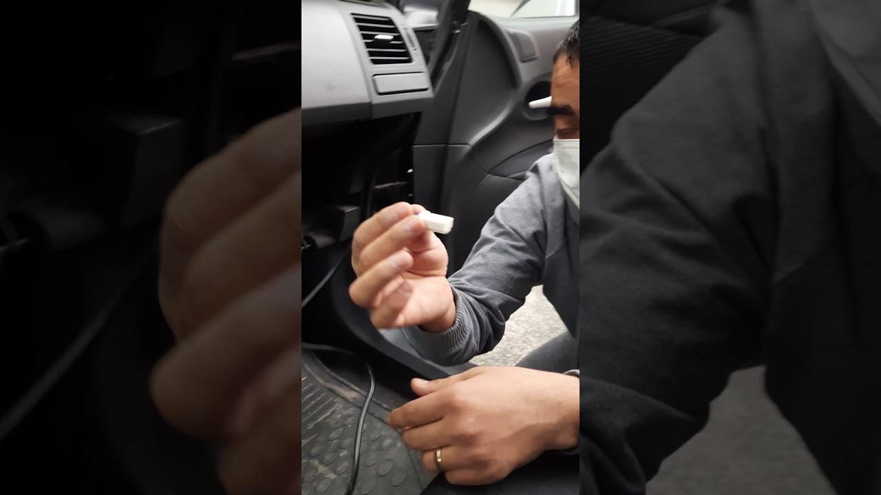 Toyota usb aux telefon bağlantısı basit montaj videosu çektik #auris#corolla#avensis