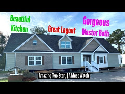 AMAZING TWO STORY Double Wide Mobile Home Heritage #2483 | 32x70 By Schult Richfield