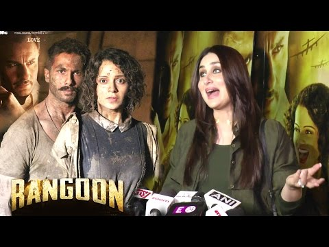 Kareena Kapoor's Rangoon Movie REVIEW Will Blow Your Mind - Shahid Kapoor, Saif Ali Khan