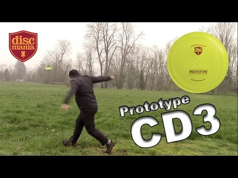 Discmania Prototype CD3 First Look and Review