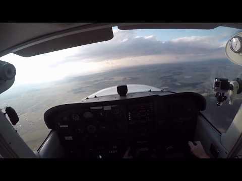 Full Length Flight | KFLY to KFTG | Cessna 172