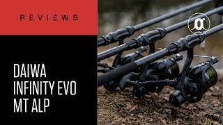 CARPologyTV - Daiwa Infinity EVO MT ALPS Carp Rods Review