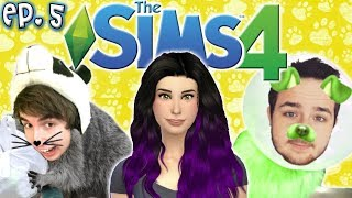 Aging Up to Adults - The Sims 4 Raising YouTubers PETS - Ep 5 CAS  Cats  Dogs