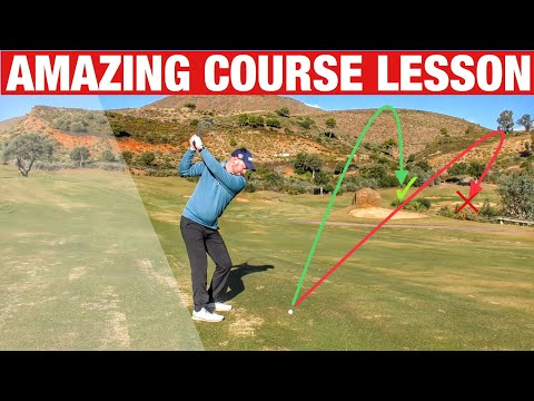 ON COURSE GOLF LESSON YOU MUST WATCH! GOLF TIPS